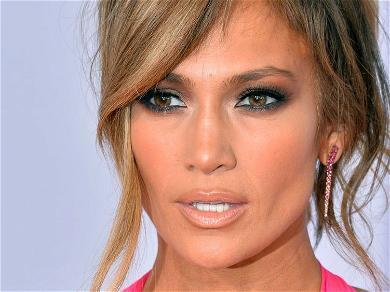 Jennifer Lopez Suffers Wardrobe Malfunction In Open Bathrobe