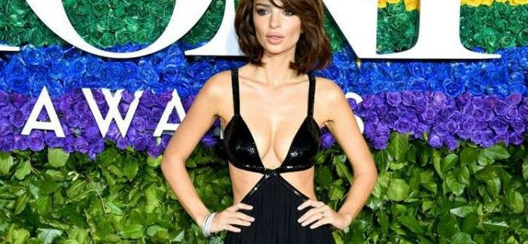 Emily Ratajkowski Lets It All Hang Out In Leopard-Print Bikini For Breezy Beach Throwback
