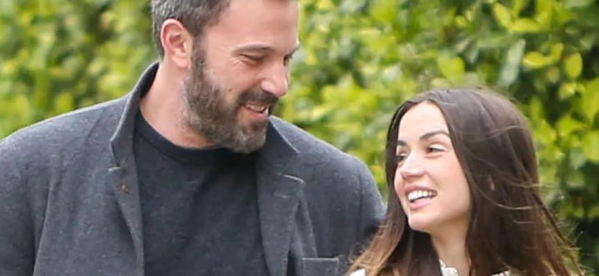 Ben Affleck & Ana De Armas Spotted Walking Dogs Again! Celebrity Couple Sparking Rumors