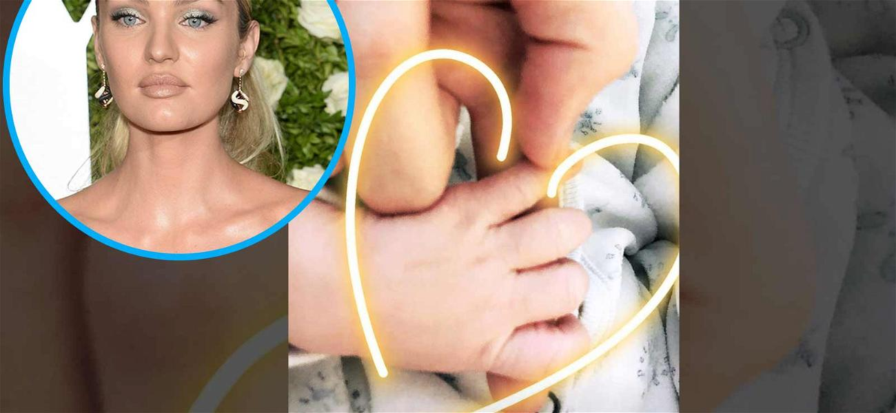Candice Swanepoel Announces Birth of Second Son With Adorable Photo