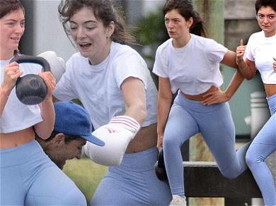 Lorde Throws Down During Boxing Class