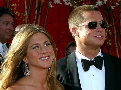 Brad Pitt Cracks Joke About Dating Life During Golden Globes, And Cameras Catch Jennifer Aniston's Reaction
