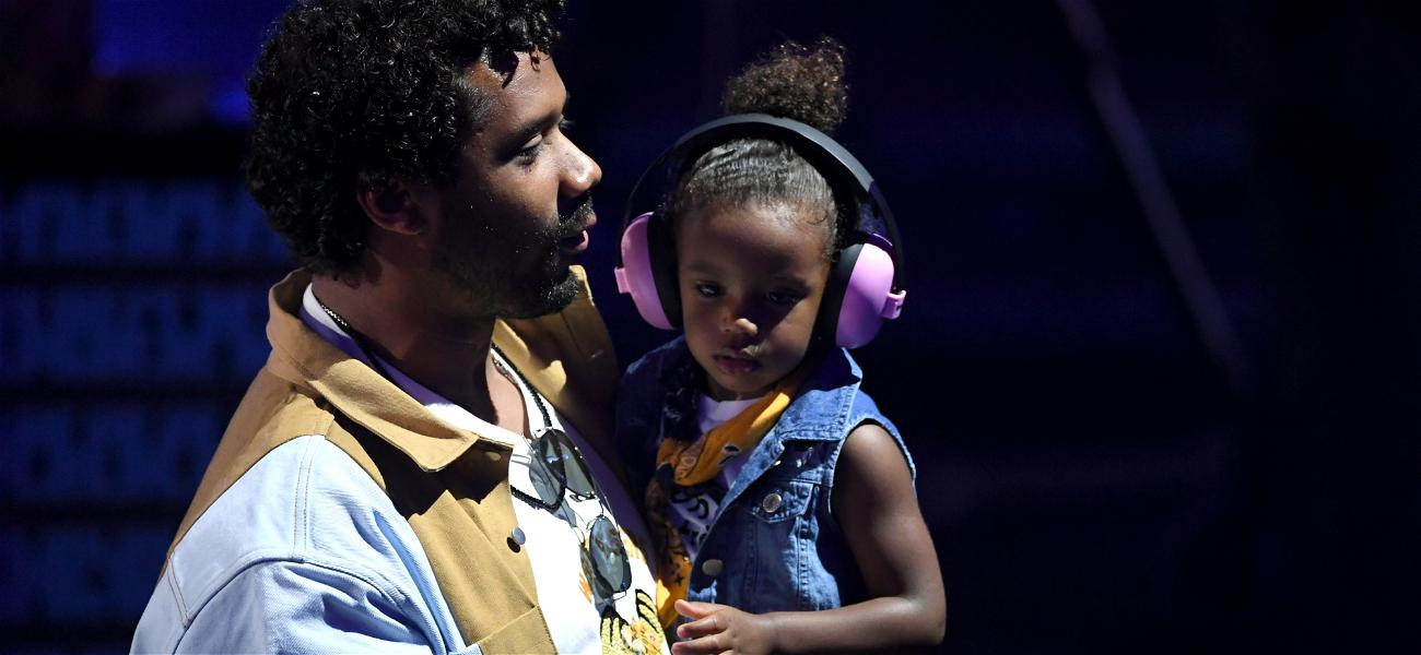 Russell Wilson Joins The Kobe Bryant 'Girl Dad' Movement With Photos Of His Daughter