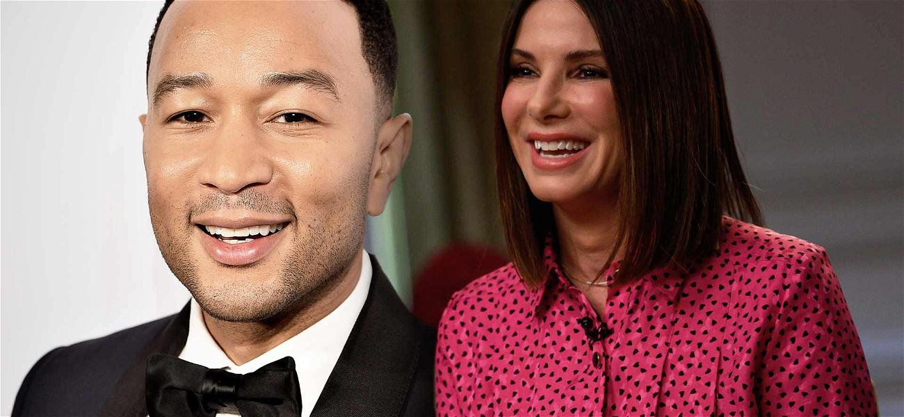 Sandra Bullock Working With John Legend to Bring Her College Life to Small Screen