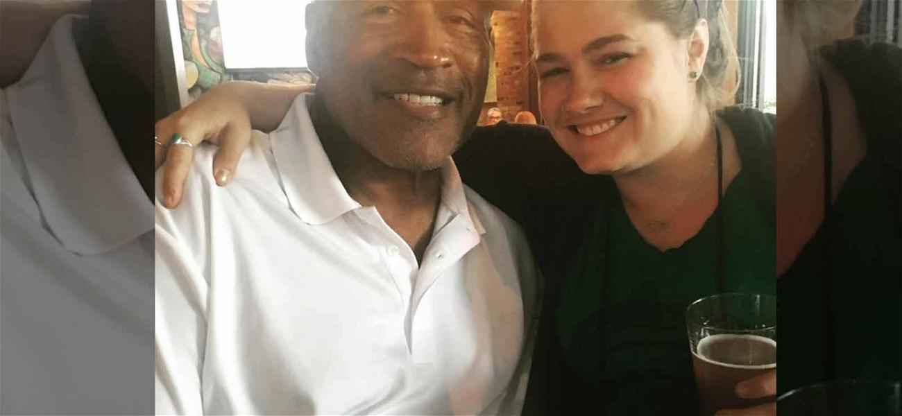 O.J. Simpson Celebrates Wine Wednesday At Bar With Pals