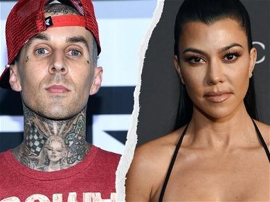 Kourtney Kardashian's Bikini Backside Catches Travis Barker's Eye