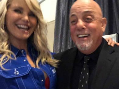 Christie Brinkley and Billy Joel Reunite Backstage After MSG Show