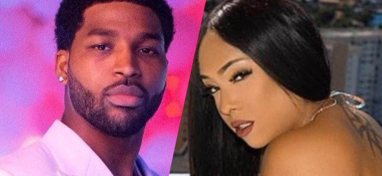 Tristan Thompson's Alleged Baby Mama Strips Down After Attacking Khloe