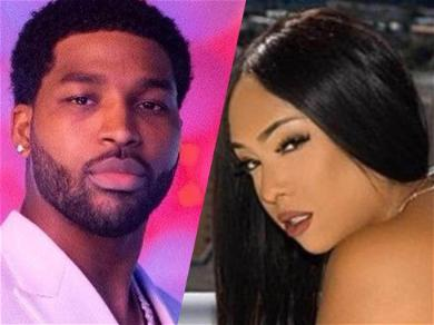 Tristan Thompson's Alleged Baby Mama Rocks See-Through Lingerie