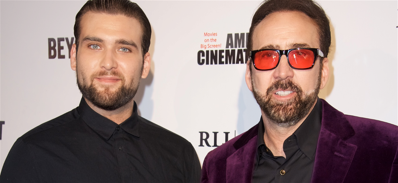 Nicolas Cage's Son Weston Files Restraining Order Against His Mother For Alleged Abuse