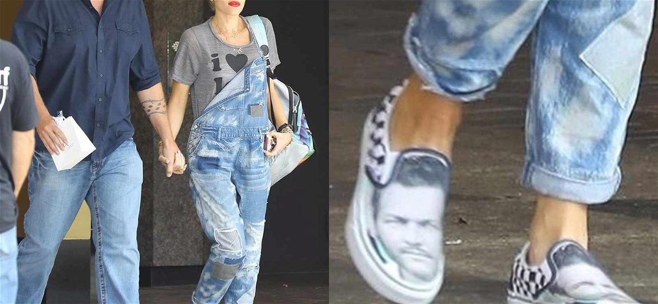 Gwen Stefani Is Boo Up From The Shoe Up