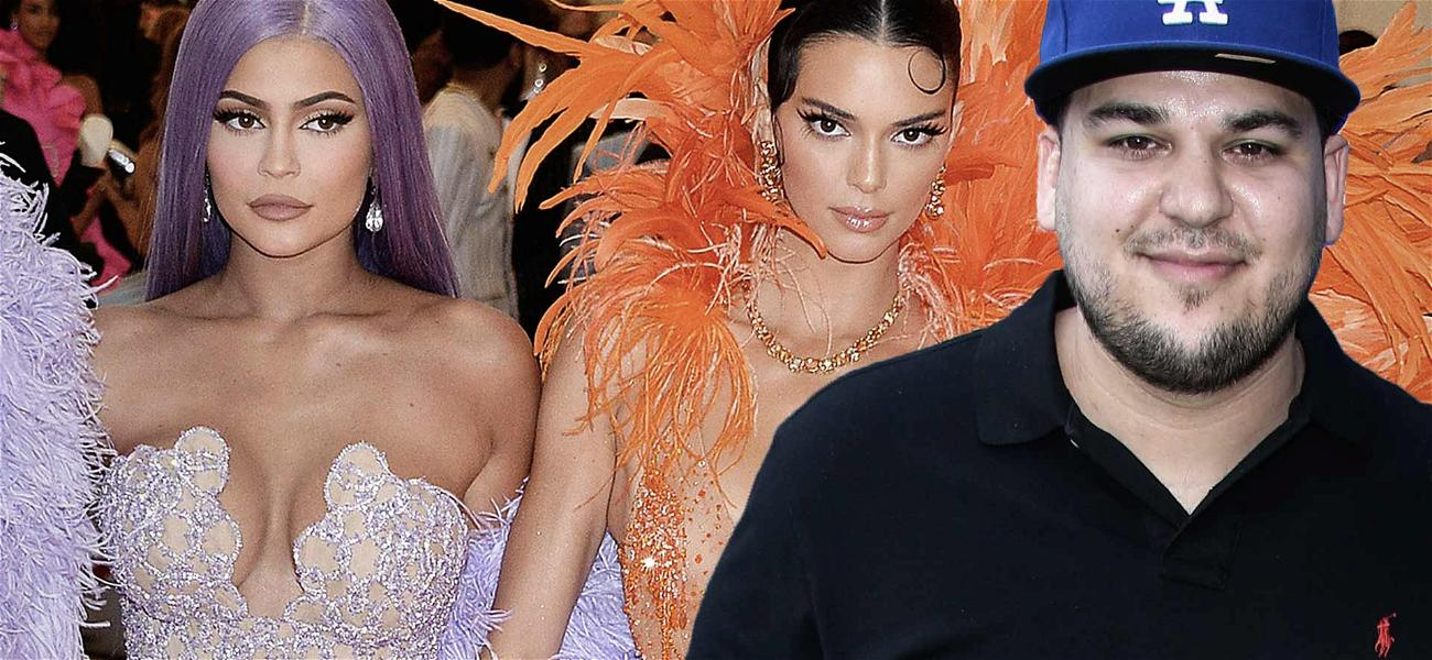 Kylie & Kendall Jenner Party With Slimmed Down Rob Kardashian, Posts Another Family Selfie!