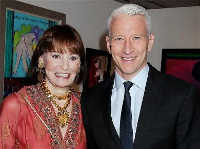 Support For Anderson Cooper Floods In After His On-Air Eulogy Of His Mother, Gloria Vanderbilt