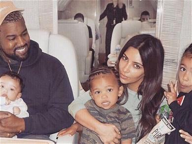 Kim Kardashian Throws Psalm Lavish Party, But Where Was Kanye West?