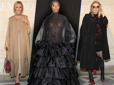 Surprise! Naomi Campbell Just Shut Down the Valentino Show at Paris Fashion Week