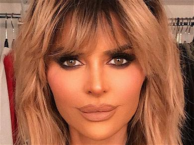 Lisa Rinna Exposes Chest, 'Didn't Know' Dress Was Sheer In Pregnancy Throwback