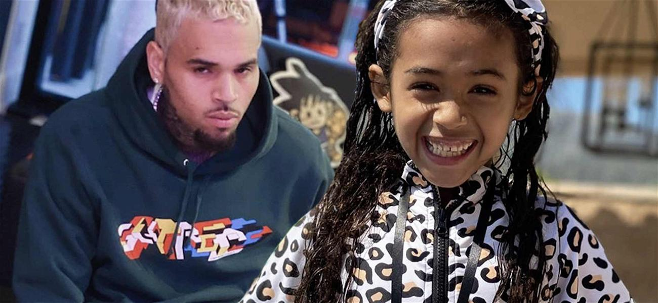 Chris Brown's Daughter Royalty Busts Moves Better Than Daddy In Epic TikTok Video