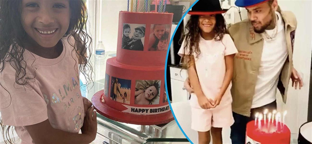 Chris Brown's Daughter, Royalty, Melts Hearts By Singing Happy Birthday To Daddy!