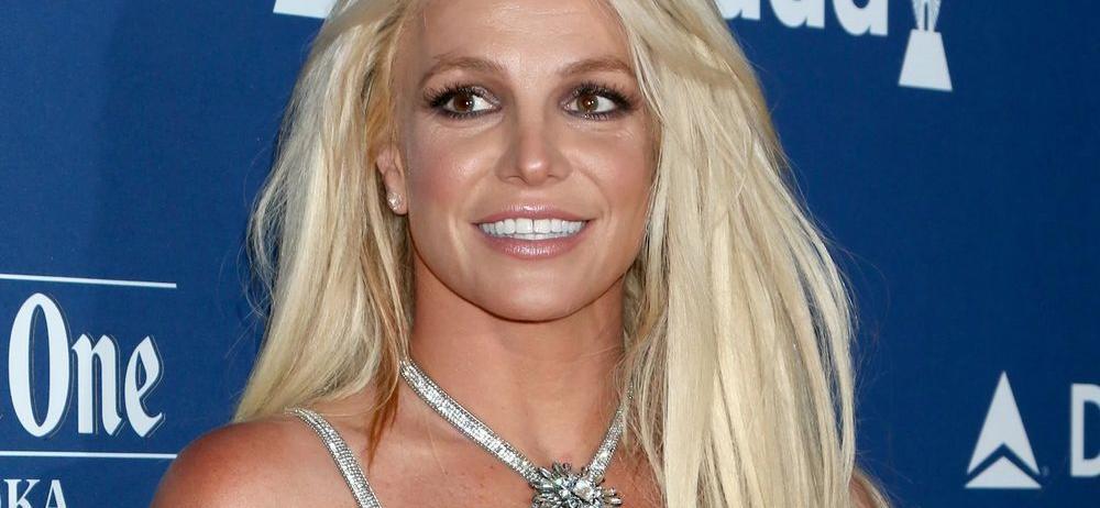 Britney Spears Stuns In Leggy Minidress At Weekend Wedding