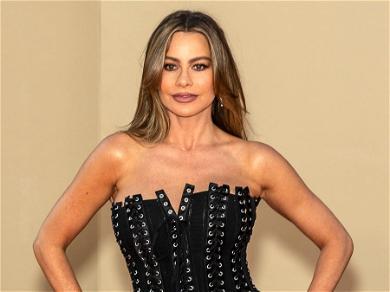 Sofia Vergara Looks Sensational In Revealing Dress And Platforms