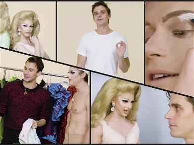 See 'Queer Eye' Star Antoni Porowski's Makeover by 'Drag Race' Star Miz Cracker