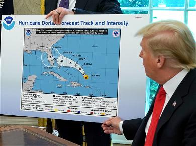 President Trump's Fake Hurricane Map Spawns A Slew Of Hilarious Memes