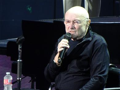 Hoping Phil Collins Is OK After He Fell Onstage