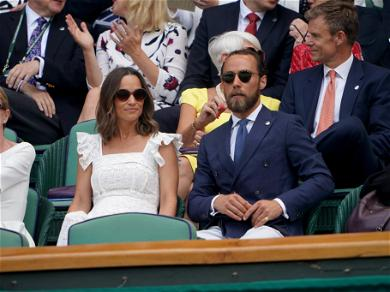 Pippa Middleton Shows Off Her Tiny Baby Bump