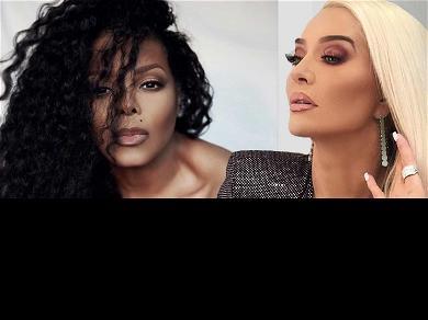 Janet Jackson Has Date Night With 'RHOBH' Star Erika Jayne