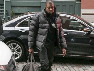 Kanye West Arrives In New York … Grammy Bound?