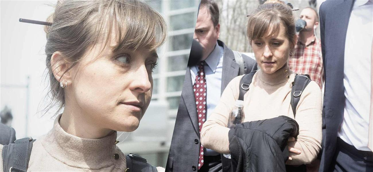 Former 'Smallville' Star Allison Mack Wept in Court While Pleading Guilty in NXIVM Sex Cult Case
