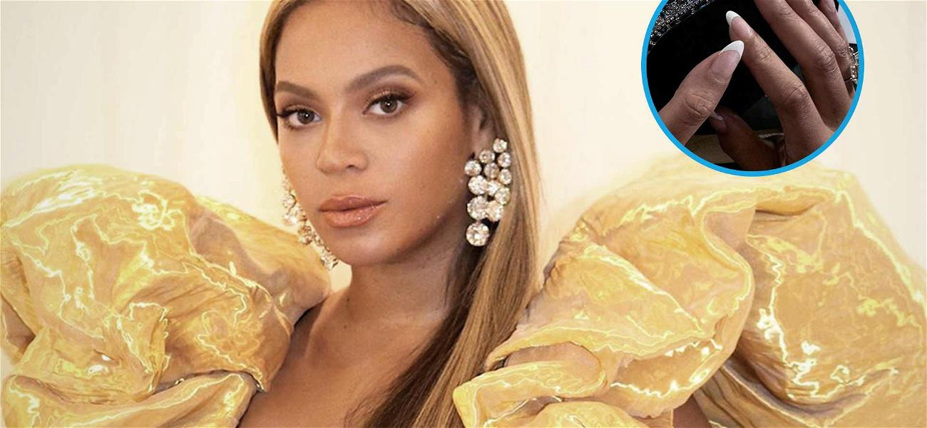 Did Beyoncé Sport a Chipped Nail At The Golden Globes?!