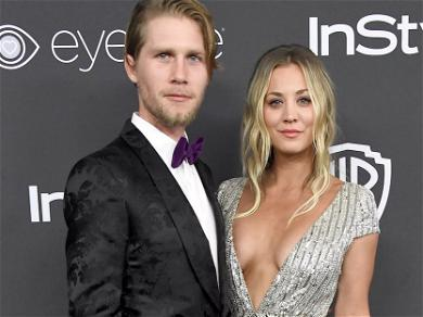 Kaley Cuoco Packs On PDA With Booze As She Finally Moves Into $12 Milllion Mansion With Husband After 2 Years