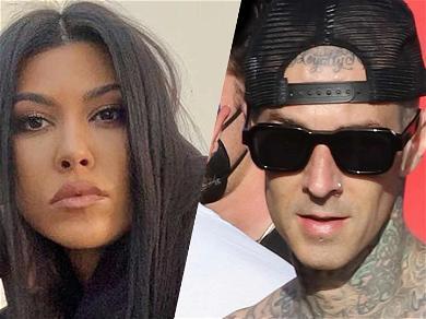 Kourtney Kardashian And Travis Barker Go On Romantic Drive For Her 42nd Birthday