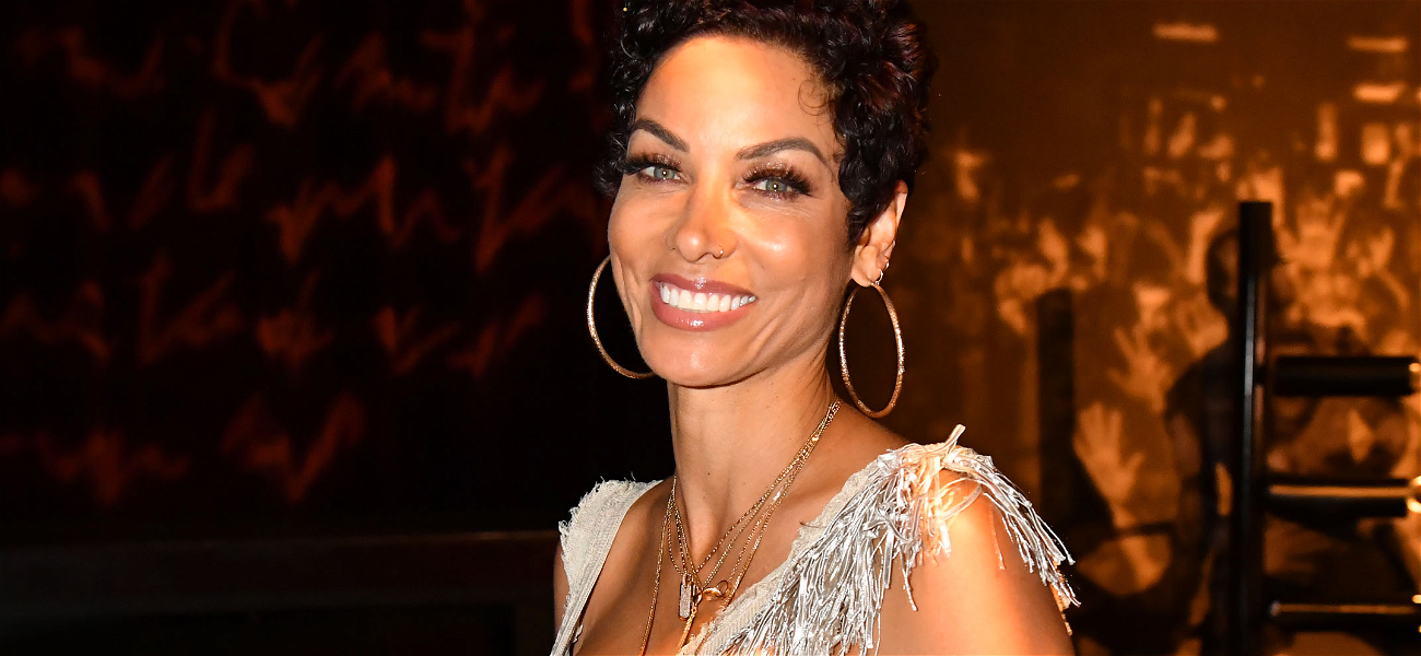 Nicole Murphy Shows Her Face After Antoine Fuqua Publicly Reunites With His Wife Following Kissing Scandal