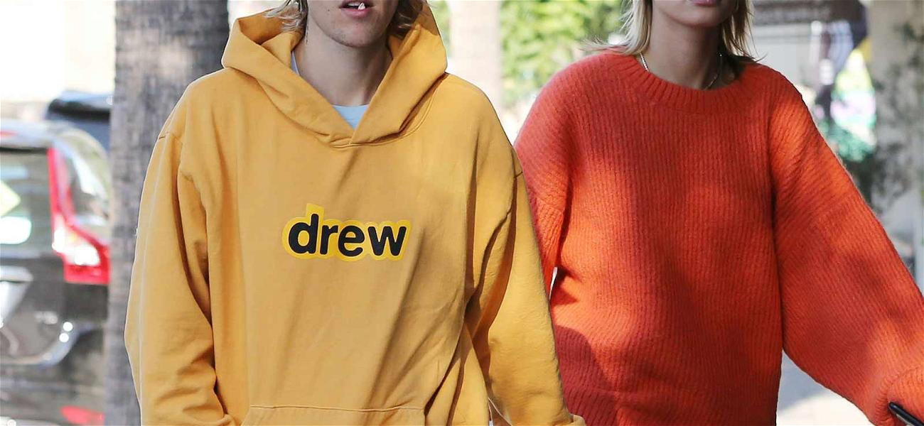 Justin Bieber Is Out Repping His 'Drew' Clothing Line After Filing Trademark