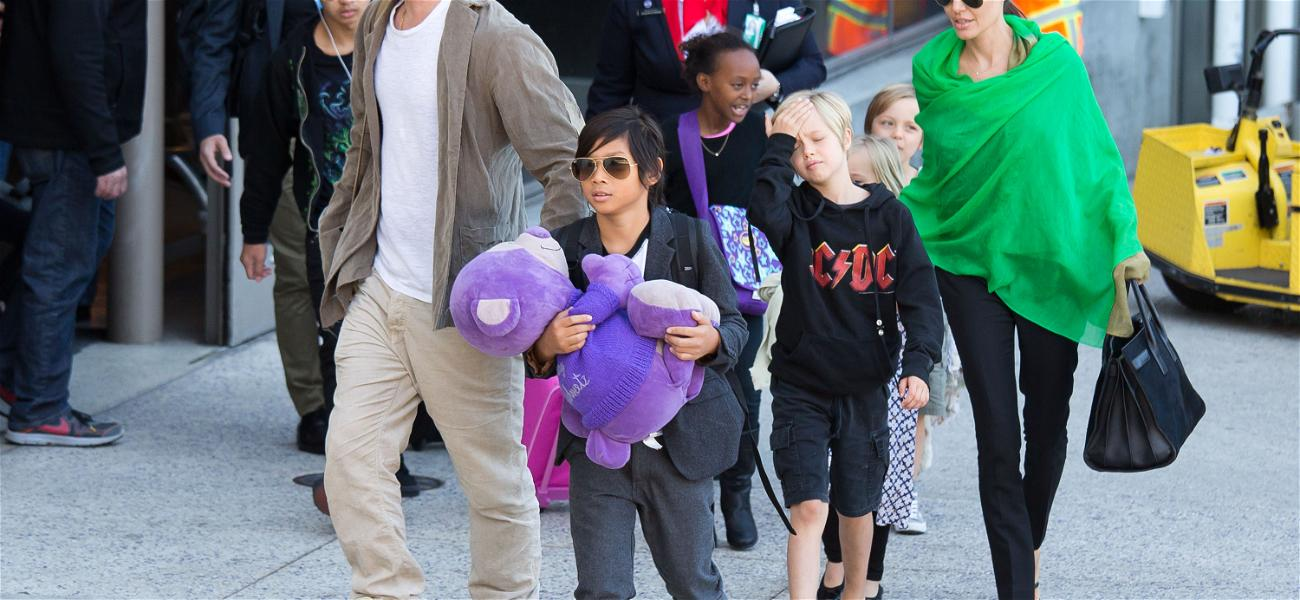 Brad Pitt & Angelina Jolie Have 2 Daughters Hospitalized, 2 Surgeries for Unrelated Issues