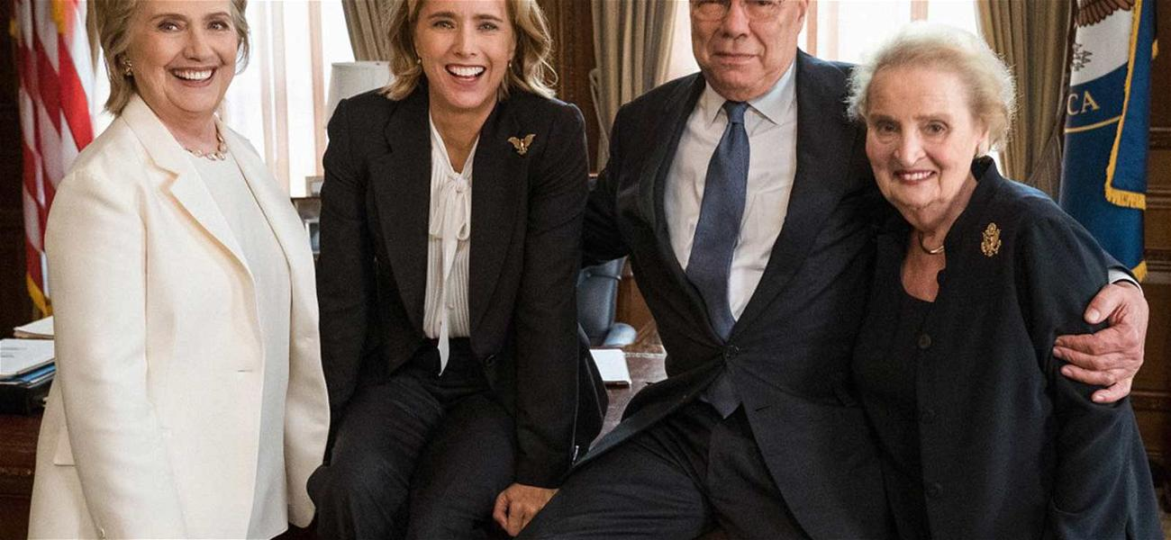 Hillary Clinton, Colin Powell & Madeleine Albright Join 'Madam Secretary'