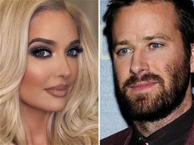 Erika Jayne Reportedly Living Next To Armie Hammer, Alleged Screenshot Leaks