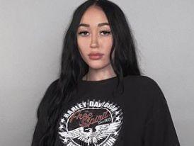 Noah Cyrus Raises Skimpy Shirt While Stoned In Her Kitchen