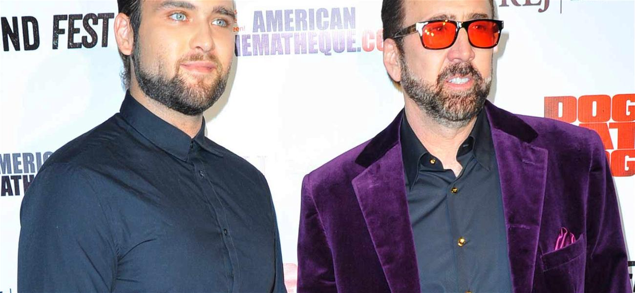 Nicolas Cage Paying Child Support for His Grandchildren in Son's Turbulent Divorce