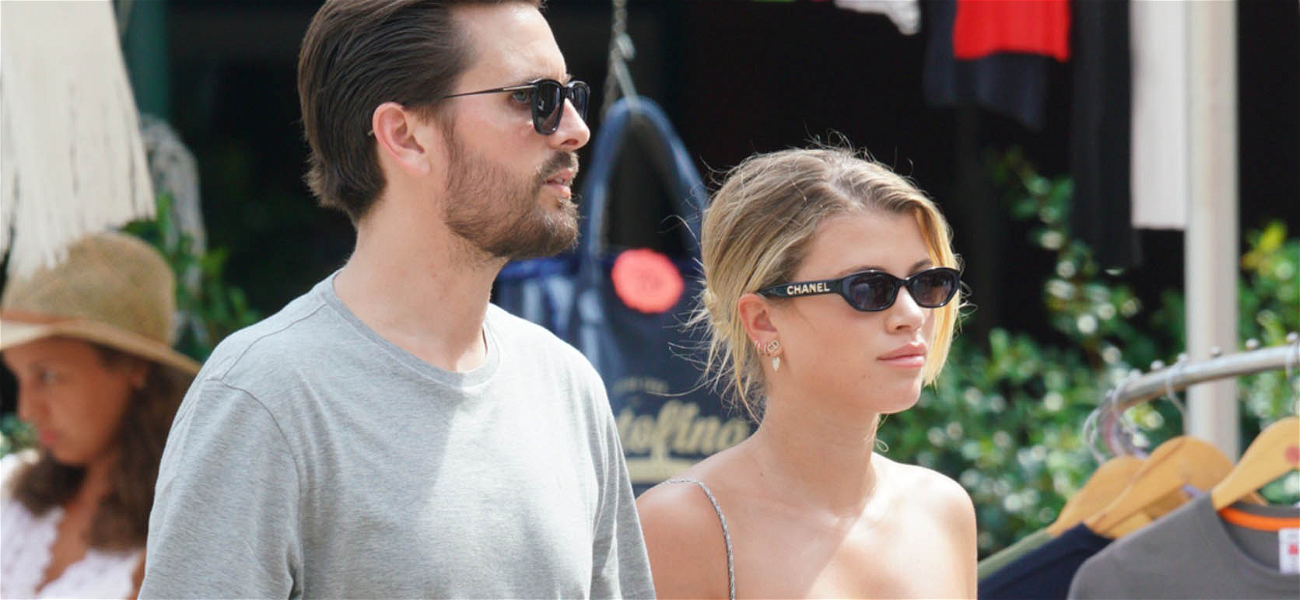 Scott Disick & Sofia Richie Ditch Kylie Jenner Crew For Quality Couple Time in Italy