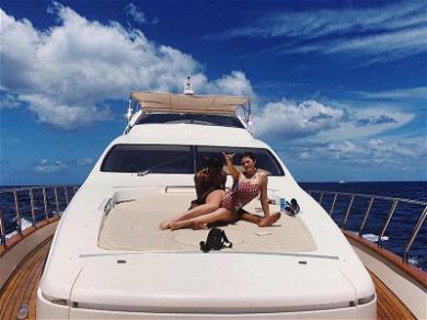 Kylie Jenner Celebrates Travis Scott's Birthday on a $33,000 Yacht Rental