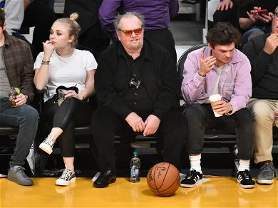 Jack Nicholson Comes Out Of Hiding For Lakers Game Appearance
