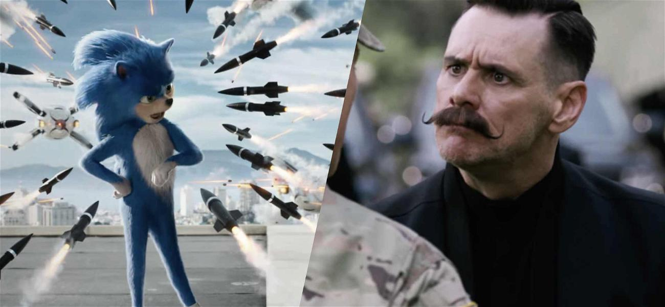 Jim Carrey Becomes Dr. Robotnik to Battle 'Sonic the Hedgehog' in New Trailer