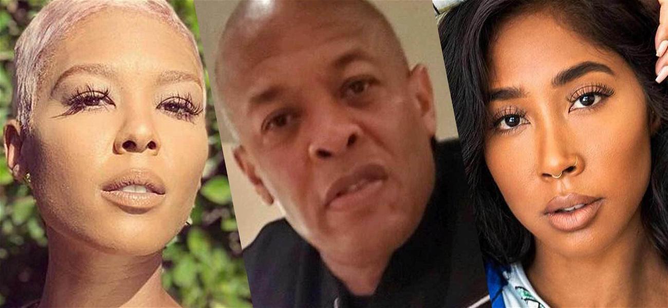Dr. Dre Accused Of Threatening Moniece Slaughter Over Apryl Jones