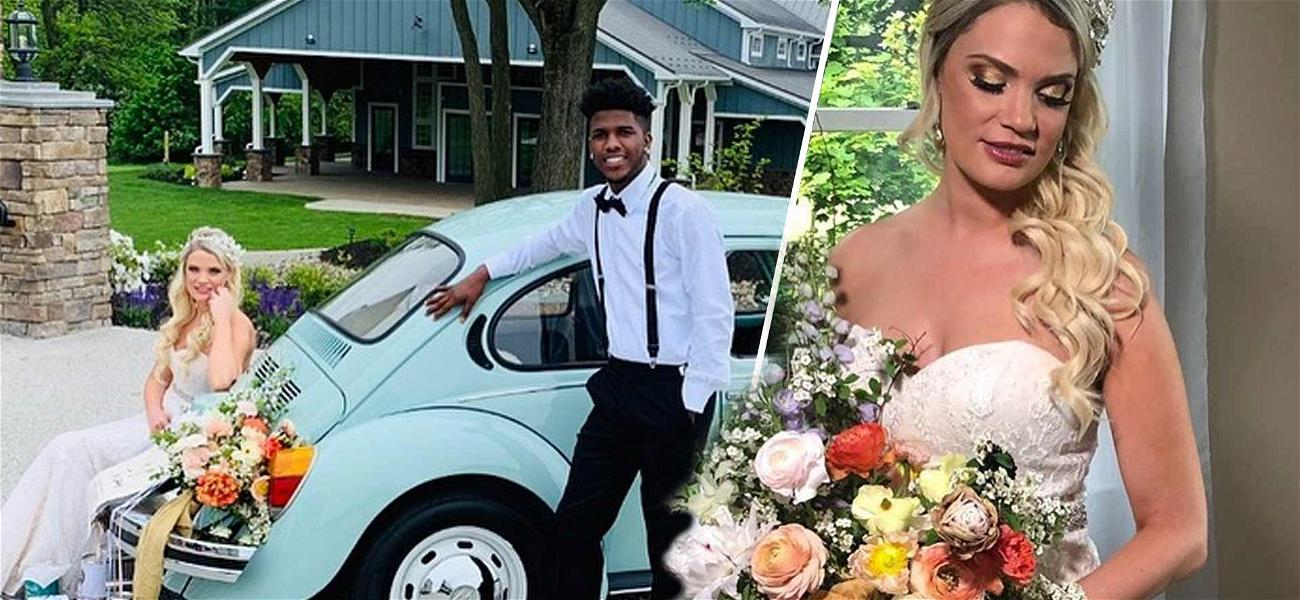'90 Day Fiancé' Stars Ashley & Jay Reunite For Wedding Photo Shoot After She Files For Divorce AGAIN