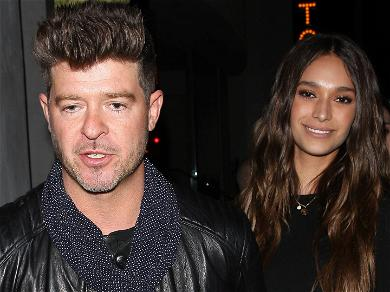 Robin Thicke and April Love Geary Are Having a Baby