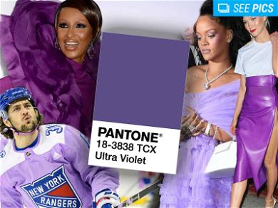 Purple Celebs to Celebrate Pantone's 'Ultra Violet' Color of the Year