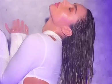 Sommer Ray Is Dripping Wet In New Behind-The-Scenes Shower Footage!